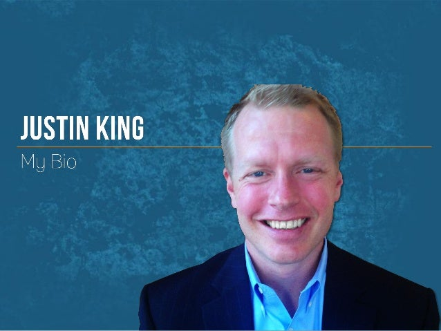 Justin King B2B eCommerce Evangelist Bio and Resume