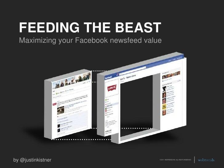 Facebook Newsfeed Tips, Feeding The Beast by Justin Kistner, Social Fresh Charlotte 2011