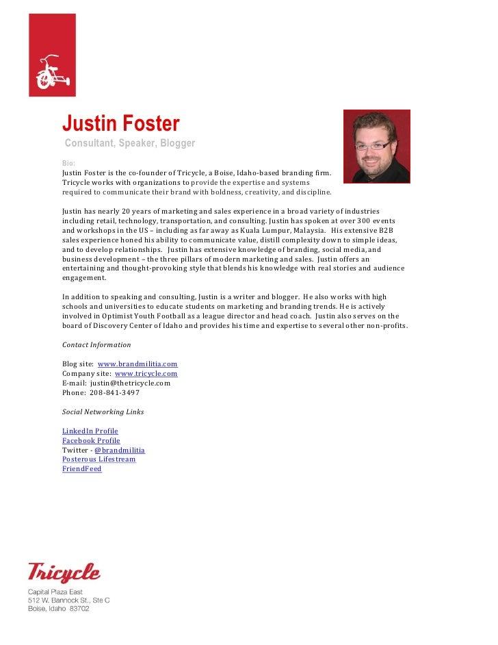 Justin Foster Speaker Packet 09