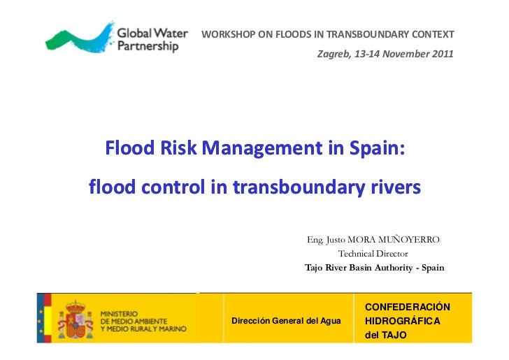 Workshop on Flood management in a transboundary context, 13-14.12.2011, Justo Mora