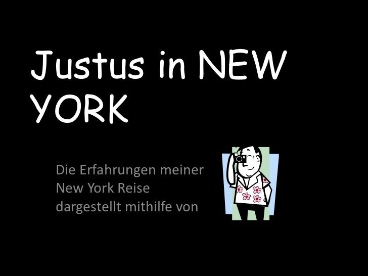 Justus in New York