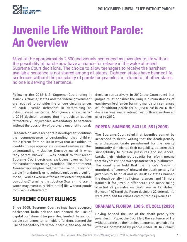 life without parole essay