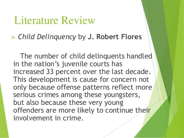 juvenile delinquency essays introduction In this individual project for unit 2, the author will be writing a definition essay on juvenile delinquents introduction in today's society, juvenile delinquency.