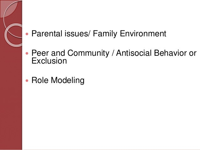 juvenile delinquency and parenting styles essay Whether the association between parenting and delinquency exists and on parenting styles and delinquency self-reported juvenile delinquency in.