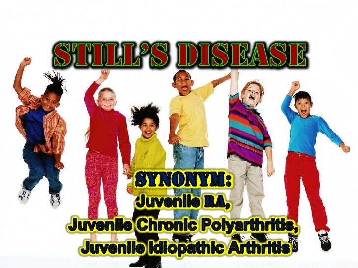 definitionJuvenile Rheumatoid Arthritis (JRA) is    defined as a chronic condition causing    joint    inflammation for a...