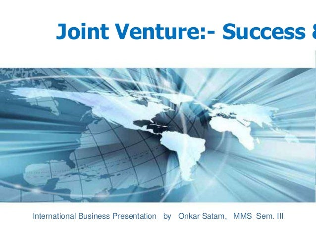 reasons for failure of joint venture case Keywords foreign parent, international joint ventures, control, performance,  strategy, joint venture life cycle  (2000) maintain one of the reasons for ijv  failures is the selection of an incom-  case, but on market related activities in  another.