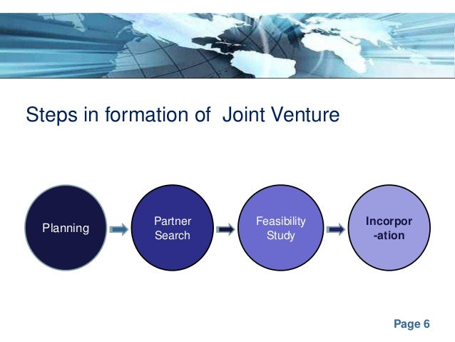 international joint venture case study
