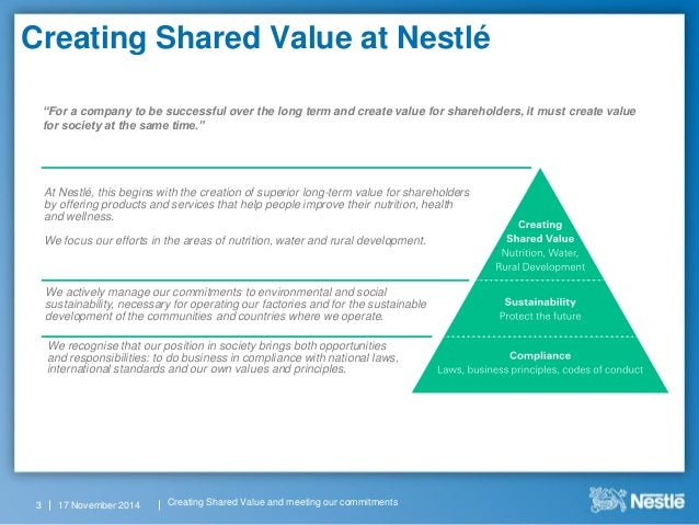 """creating shared value essay On creating shared value in latin america11 and from 200812 onwards biannual, global, company-wide """"creating shared value"""" (csv) reports eventually, some five yearsaftertheirinitial formulation, the fullyrealized elaboration of sharedvalue was."""