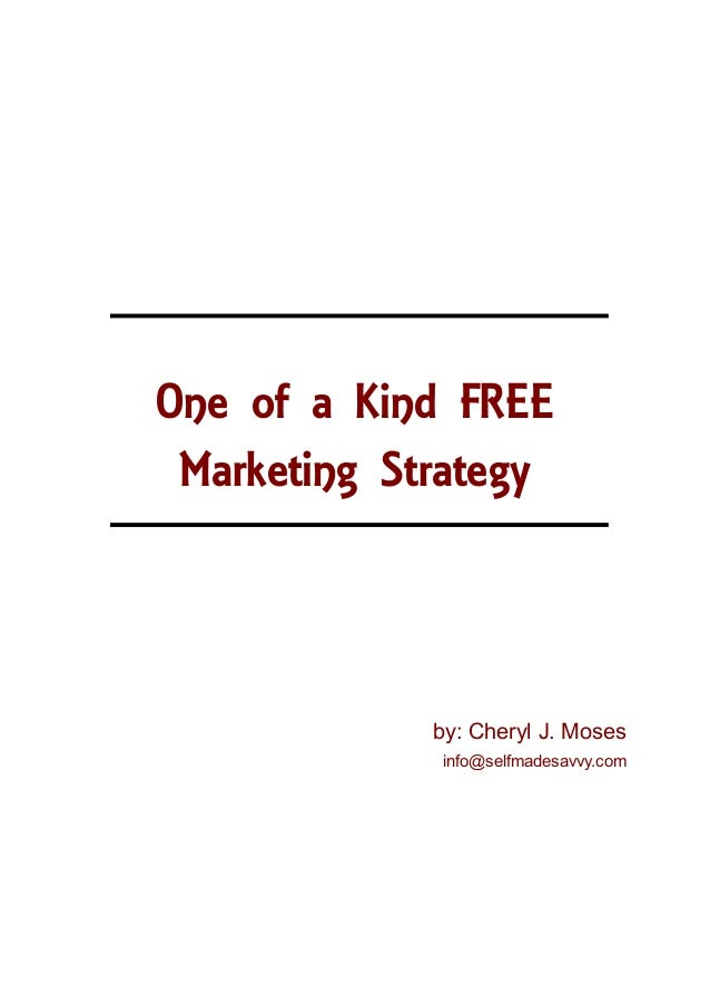 The Best FREE Marketing Strategy