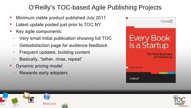 O'Reilly Agile Publishing Slides