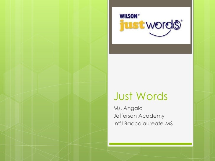 Just Words, Alphabetical Writing Systems, Day 2 (Unit 1)