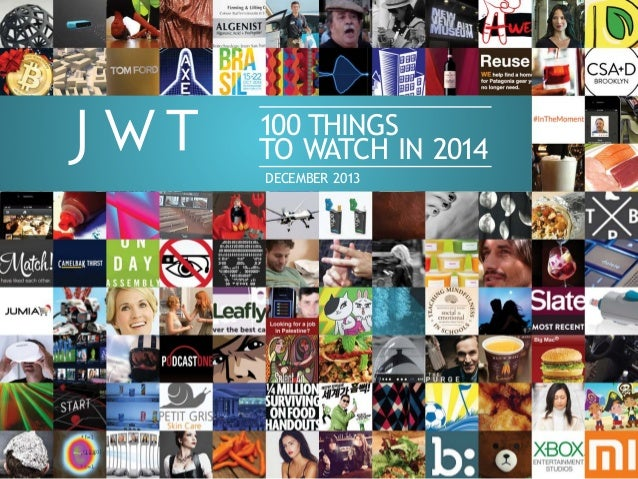 JWT 100 Things to Watch in 2014
