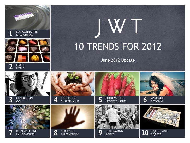 NAVIGATING THE1   NEW NORMAL                                 10 TRENDS FOR 2012                                        Jun...