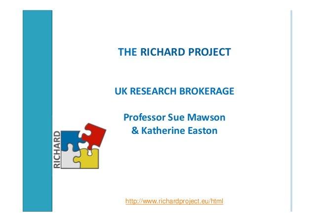 K. easton richard uk brokerage progress
