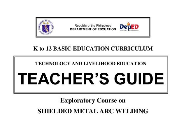 Republic of the Philippines DEPARTMENT OF EDCUATION  K to 12 BASIC EDUCATION CURRICULUM TECHNOLOGY AND LIVELIHOOD EDUCATIO...