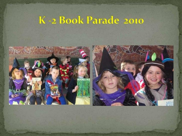 K  2 book parade  2010