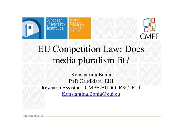 EU Competition Law: Does media pluralism fit?