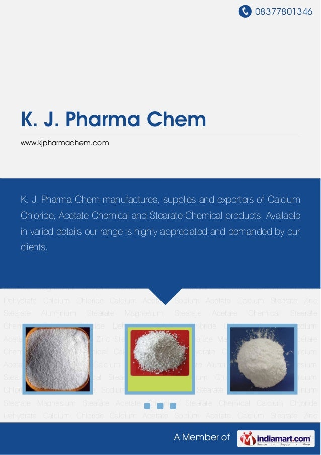 Magnesium Stearate by K j pharma chem