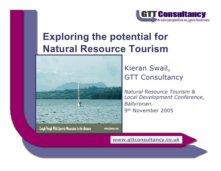 Potential of Natural Resource Tourism