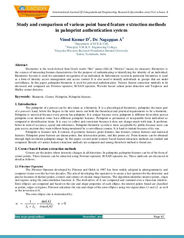 I nternational Journal Of Computational Engineering Research (ijceronline.com) Vol. 2 Issue. 8 Study and comparison of var...