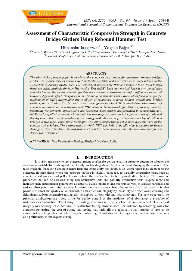 ISSN (e): 2250 – 3005    Vol, 04    Issue, 4    April – 2014    International Journal of Computational Engineering Researc...