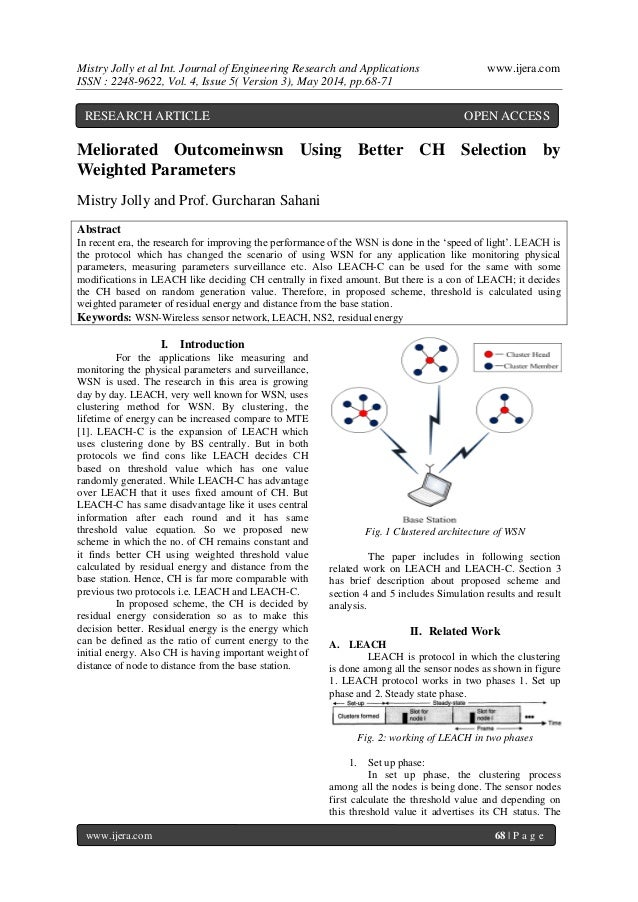 Mistry Jolly et al Int. Journal of Engineering Research and Applications www.ijera.com ISSN : 2248-9622, Vol. 4, Issue 5( ...