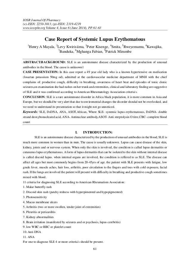 IOSR Journal Of Pharmacy (e)-ISSN: 2250-3013, (p)-ISSN: 2319-4219 www.iosrphr.org Volume 4, Issue 6 (June 2014), PP. 61-63...