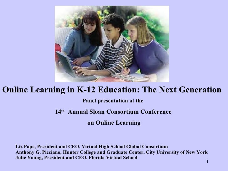 K 12 Online Final K 12 Online Next Generation November 2008