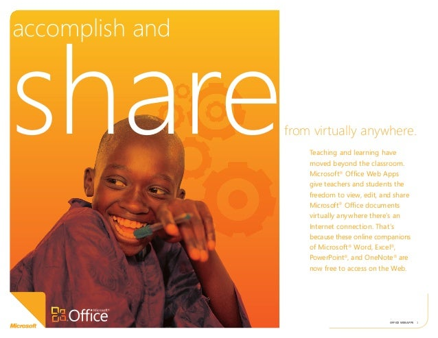 Accomplish and share from virtually anywhere.Microsoft for education.