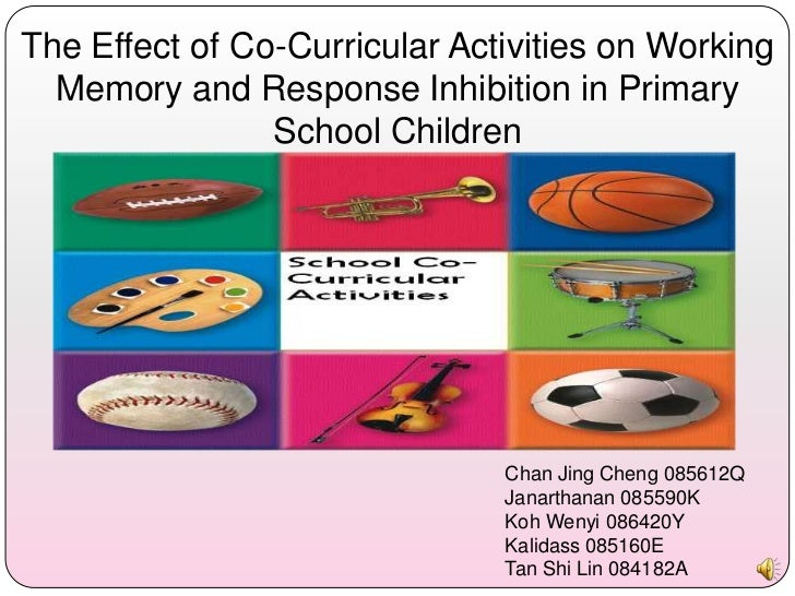 The Effect of Co-Curricular Activities on Working  Memory and Response Inhibition in Primary                School Childre...