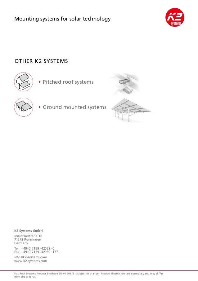 k2 flat roof systems. Black Bedroom Furniture Sets. Home Design Ideas