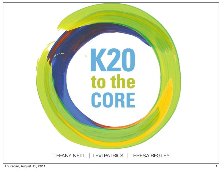 K20 to the Core