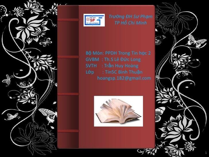 K33103227 trần huy hoàng bài 11 chương 3 tin học 12