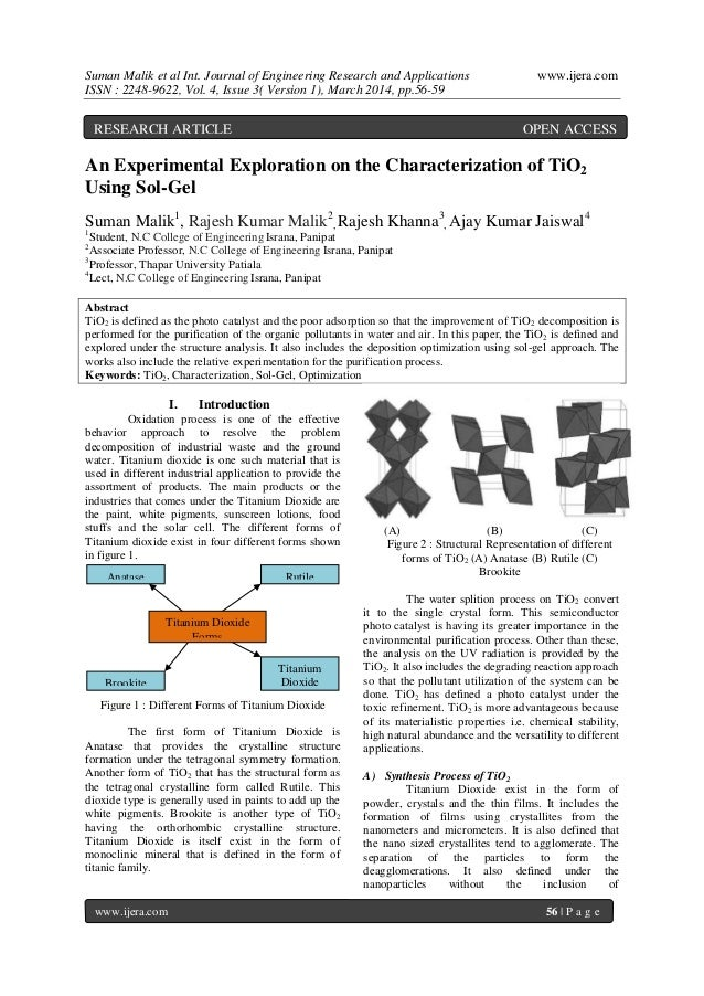 Suman Malik et al Int. Journal of Engineering Research and Applications www.ijera.com ISSN : 2248-9622, Vol. 4, Issue 3( V...