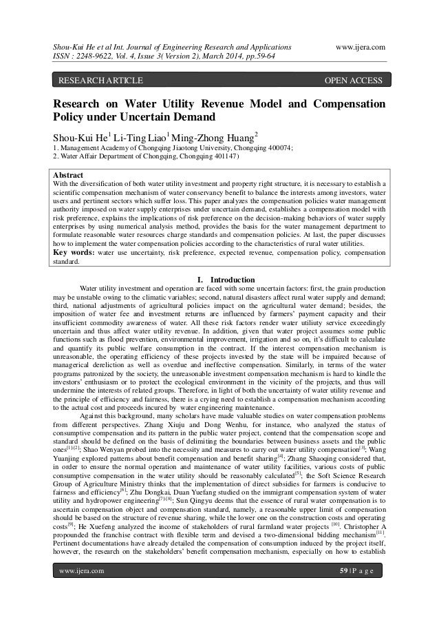 Shou-Kui He et al Int. Journal of Engineering Research and Applications www.ijera.com ISSN : 2248-9622, Vol. 4, Issue 3( V...
