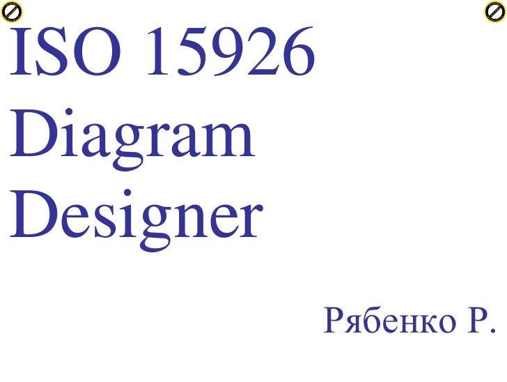 Рябенко Роман -- редактор диаграмм ISO 15926