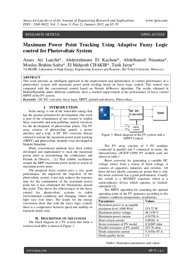 Fuzzy Logic Techniques (FLT) in the Interpretation of the Responses
