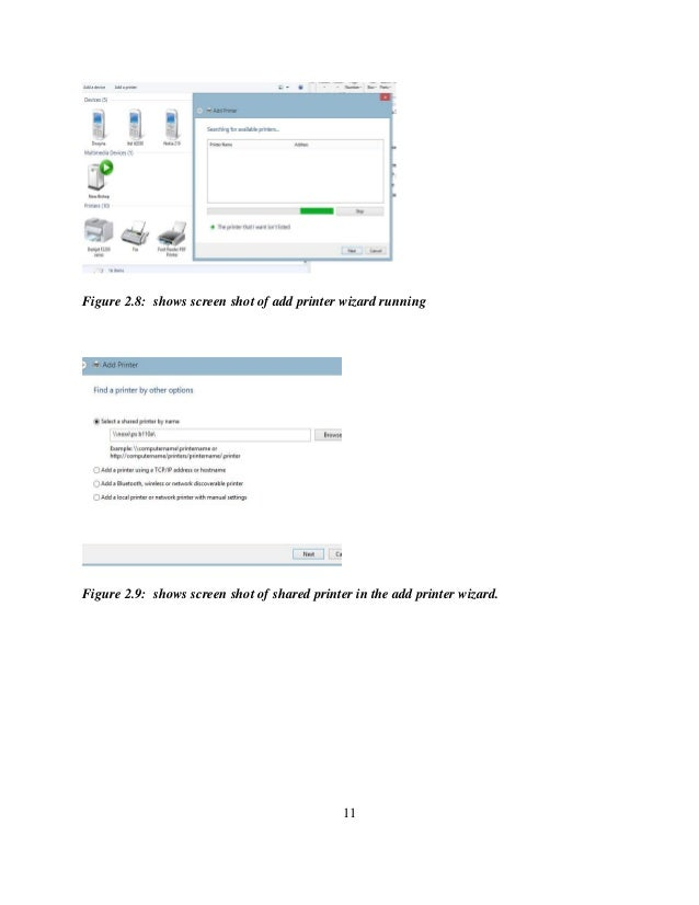 computer science internship report