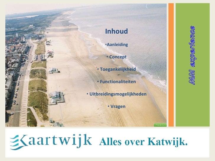 Kaartwijk map project PechaKucha presentation Blok-5 IDM