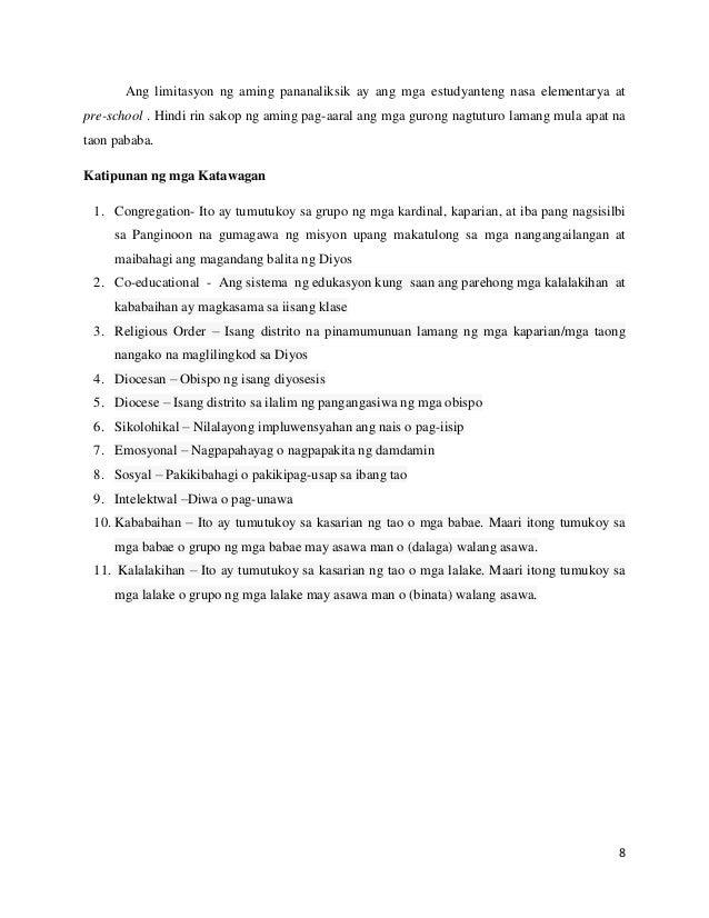 saklaw at limitasyon sa pag aaral ukol sa krimen Entitled wikang filipino, sa  thesis - wikang filipino, sa makabagong  3 saklaw at limitasyon ng pag-aaral.