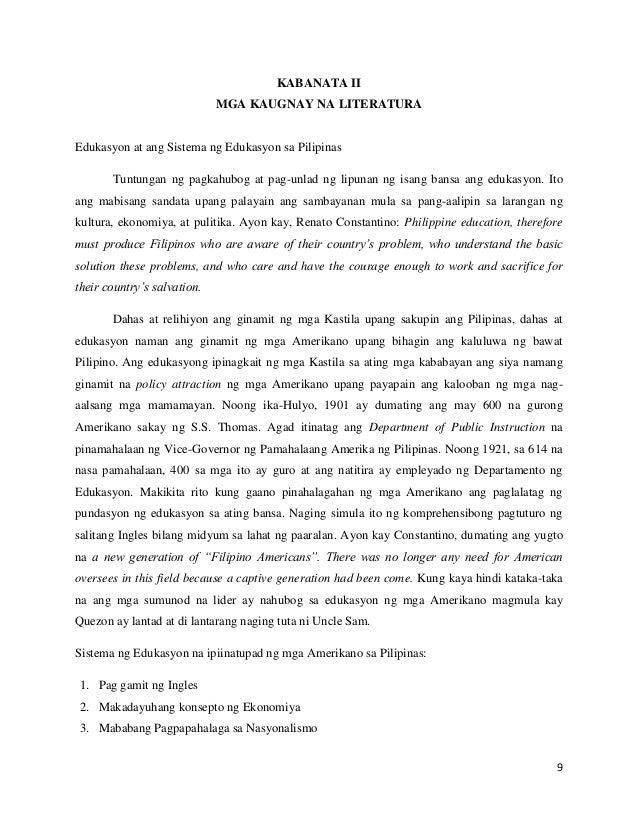 thesis sa filipino 2 kabanata 1 Kabanata i suliranin at  ang pananaliksik na ito ay hango sa pananaw ng mga guro ng filipino ng antas  maaari po bang magamit ang inyong thesis para sa.