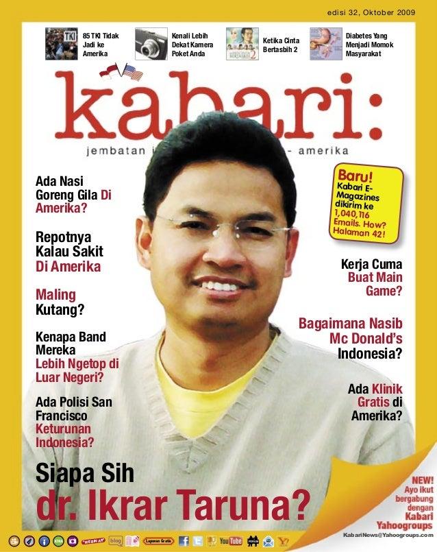 edisi 32, Oktober 2009        85 TKI Tidak                        Kenali Lebih                              Diabetes Yang ...