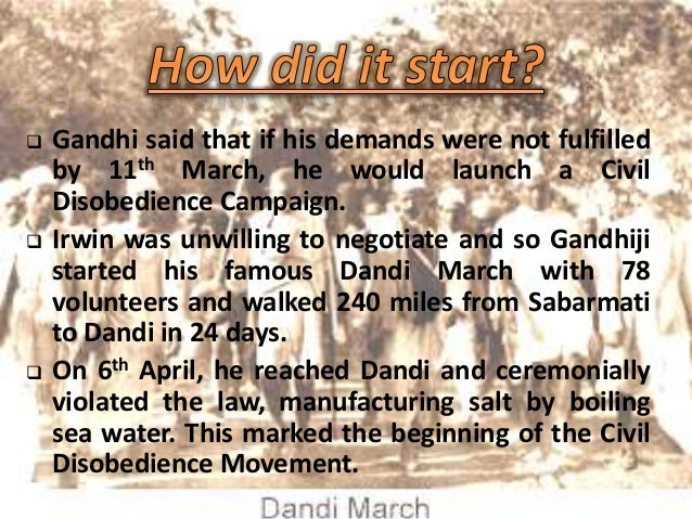 essay on civil disobedience movement in india Civil disobedience movement - by devanshi janmeja formed under the leadership of mahatma gandhi, the civil disobedience movement set a milestone in the.