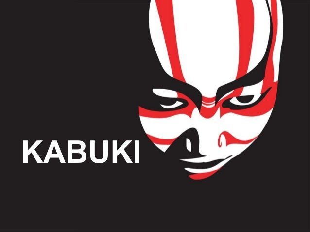 Kabuki for Kabuki mask template