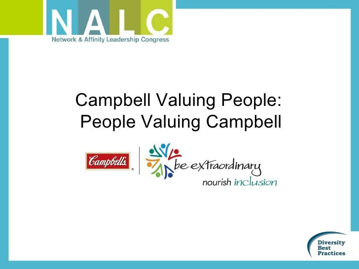 Campbell Valuing People:  People Valuing Campbell