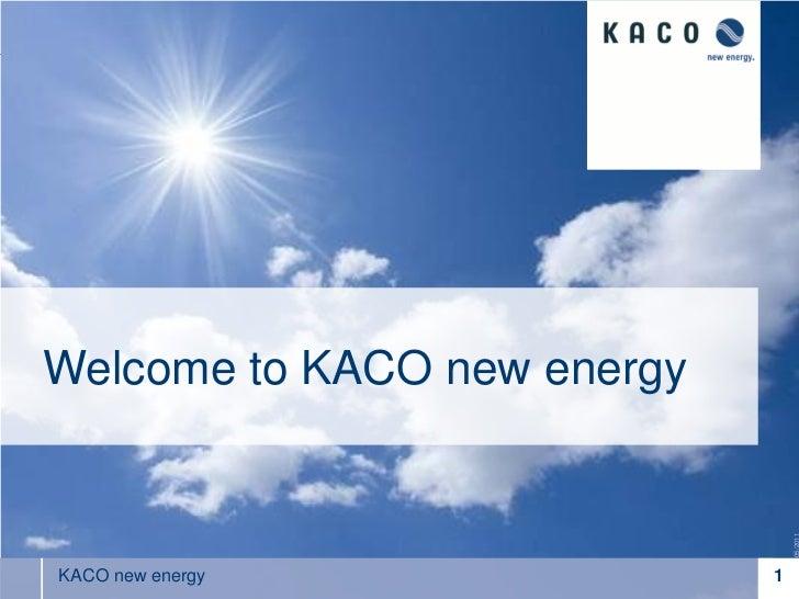 Krannich Solar imparte cursos de formación - Ponencia de Kaco