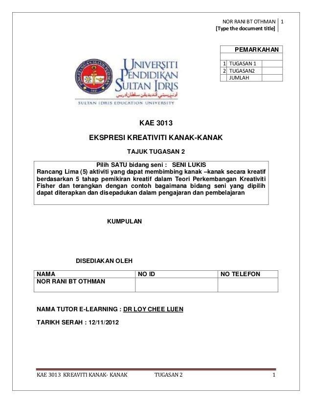 NOR RANI BT OTHMAN 1                                                          [Type the document title]                   ...