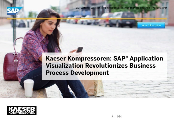 Kaeser kompressoren - SAP Application Visualization Revolutionizes Business Process Development