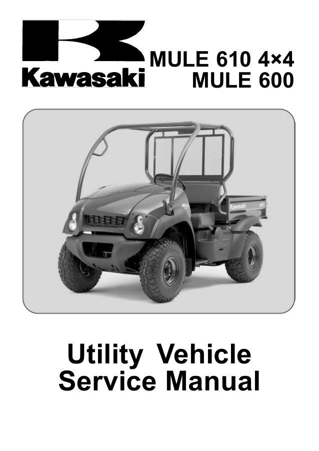 Kawasaki Mule Service Manual