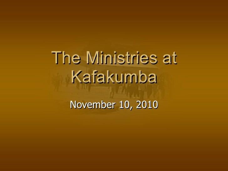 Kafakumba Training Center
